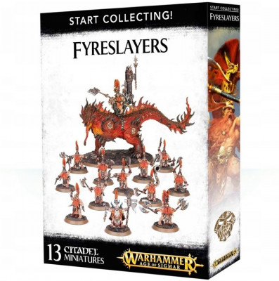 Игра Warhammer Age of Sigmar. Start Collecting! Fyreslayers