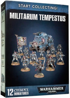 Warhammer 40,000 Миниатюры: Start Collecting! Militarum Tempestus Новая версия