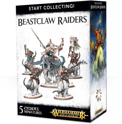 Warhammer Age of Sigmar. Start Collecting! Beastclaw Raiders