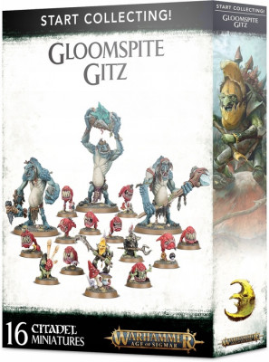 Warhammer Age of Sigmar. Start Collecting! Gloomspiter Gitz