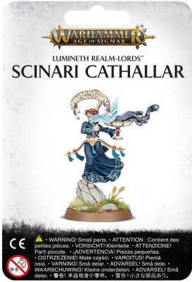 Warhammer Age of Sigmar. Lumineth Realm-Lords: Scinari Cathallar