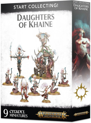Игра Warhammer Age of Sigmar. Start Collecting! Daughters of Khaine