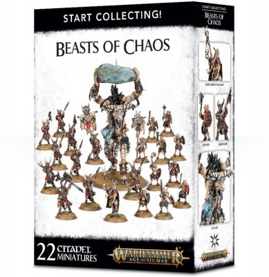 Warhammer Age of Sigmar. Start Collecting! Beast of Chaos