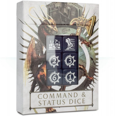 Warhammer Age of Sigmar: Command and Status Dice