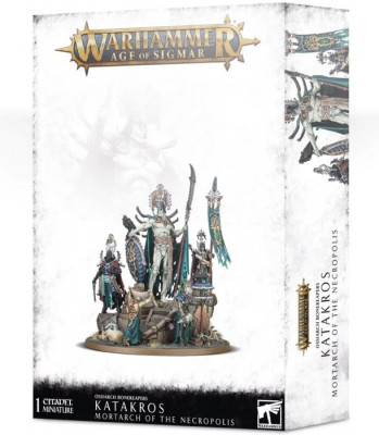 Warhammer. Age of Sigmar Миниатюры: Ossiarch Bonereapers Katakros Mortarch of the Necropolis