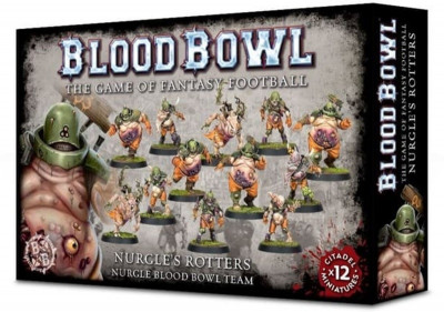 Warhammer. Blood Bowl: Nurgle's Rotters Team