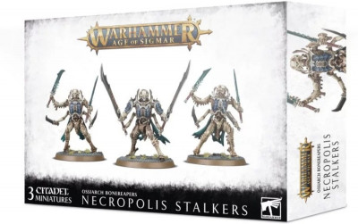 Warhammer. Age of Sigmar. Ossiarch Bonereapers Necropolis Stalkers