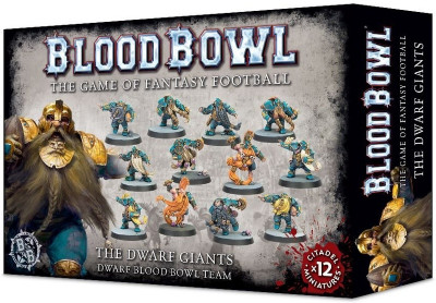 Warhammer. Blood Bowl: The Dwarf Giants Team