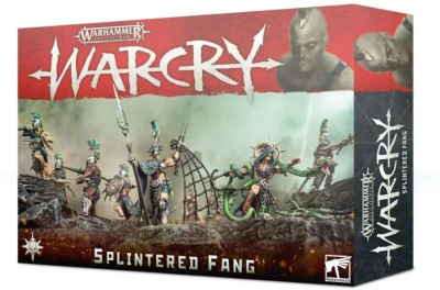 Warhammer. Age of Sigmar Миниатюры: WarCry: Splintered Fang