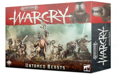 Warhammer. Age of Sigmar Миниатюры: WarCry: Untamed Beasts