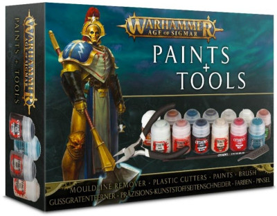 Warhammer. Age of Sigmar. Paints and Tools Set
