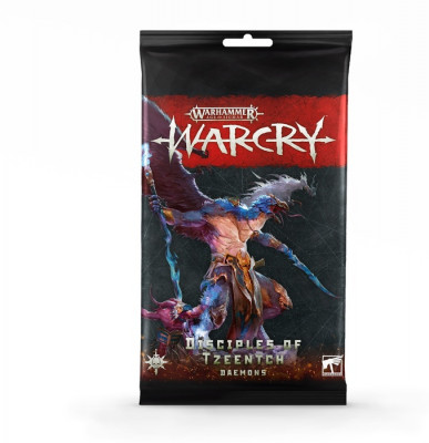 Warhammer. WarCry: Disciples of Tzeentch Card Pack