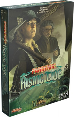 Pandemic: Rising Tide (Пандемия: Прилив) (на английском языке)