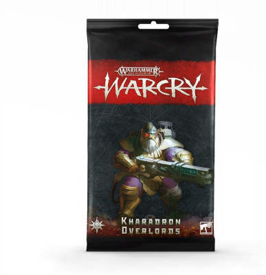 Warhammer. WarCry: Kharadron Overlords Card Pack