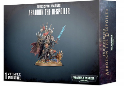 Warhammer 40,000. Chaos Space Marines Abaddon the Despoiler