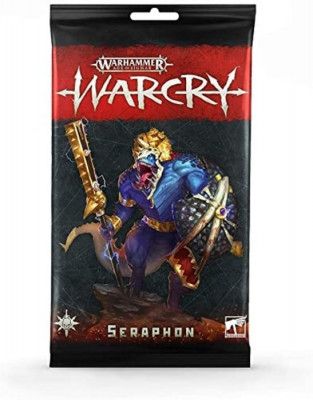 Warhammer. WarCry: Seraphon Cards
