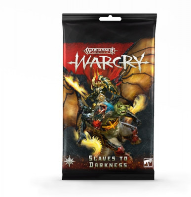 Warhammer. WarCry: Slaves to Darkness Card Pack